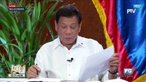 Duterte says he invented Trillanes bank account numbers