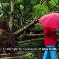 Ouragan Maria: deux morts et deux disparus en Guadeloupe