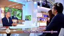 """Philippe Besson raconte dans """"C à vous"""" la réaction d'Emmanuel Macron après le retrait de François Hollande - Regardez"""