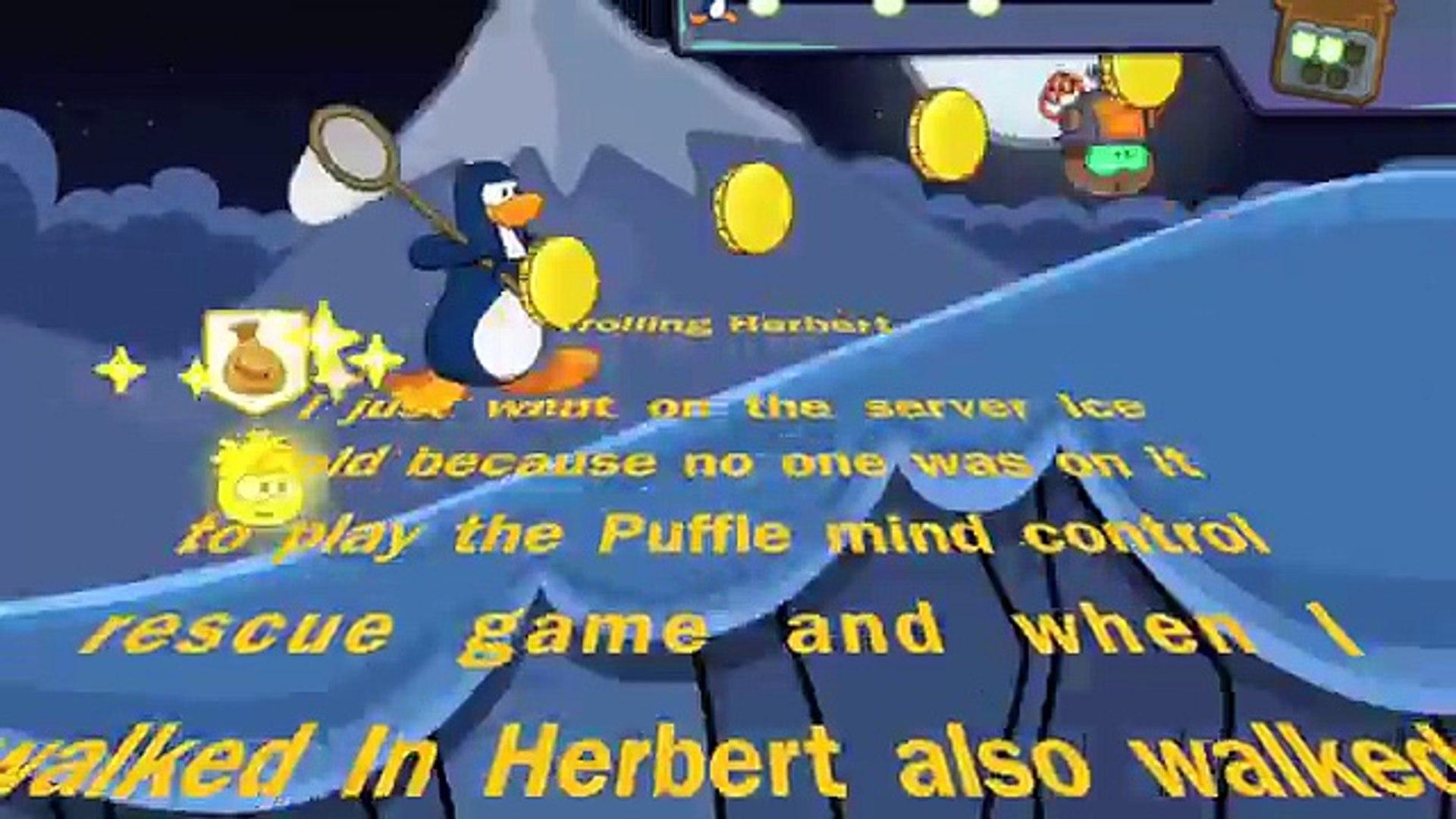 Club Penguin Trolling Herbert