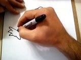 COMO DIBUJAR EL LOGO DE LOS CAZAFANTASMAS / HOW TO DRAW THE GHOSTBUSTERS LOGO
