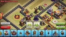 Town Hall 11 War Base Trophy Base - December Update - Clash of Clans (Grand Warden + Eagle Artilery)