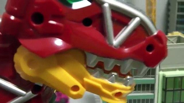 đồ chơi lắp ráp robot siêu nhân khủng long Power Rangers Dino Charge Toys 파워레인저 다이노포스 장난감