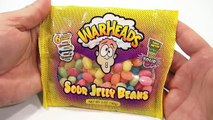 WarHeads Sour Jelly Beans, 6 Tasty Flavors!