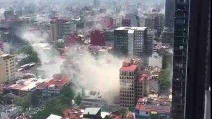 Terror en México DF: los vídeos más impactantes del terremoto
