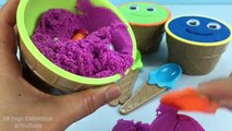 Kinetic Sand Smiley Face Ice Cream Surprise Cups The Good Dinosaur Shopkins Disney Pixar F