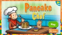 Jorge el Curioso - en Español - Jorge Chef Pancakes - juego - FuntasticGames4kids