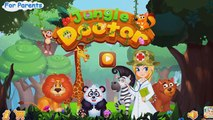 Aventure androïde animaux docteur pour Jeu enfants apprentissage Applications de jeux de jungle