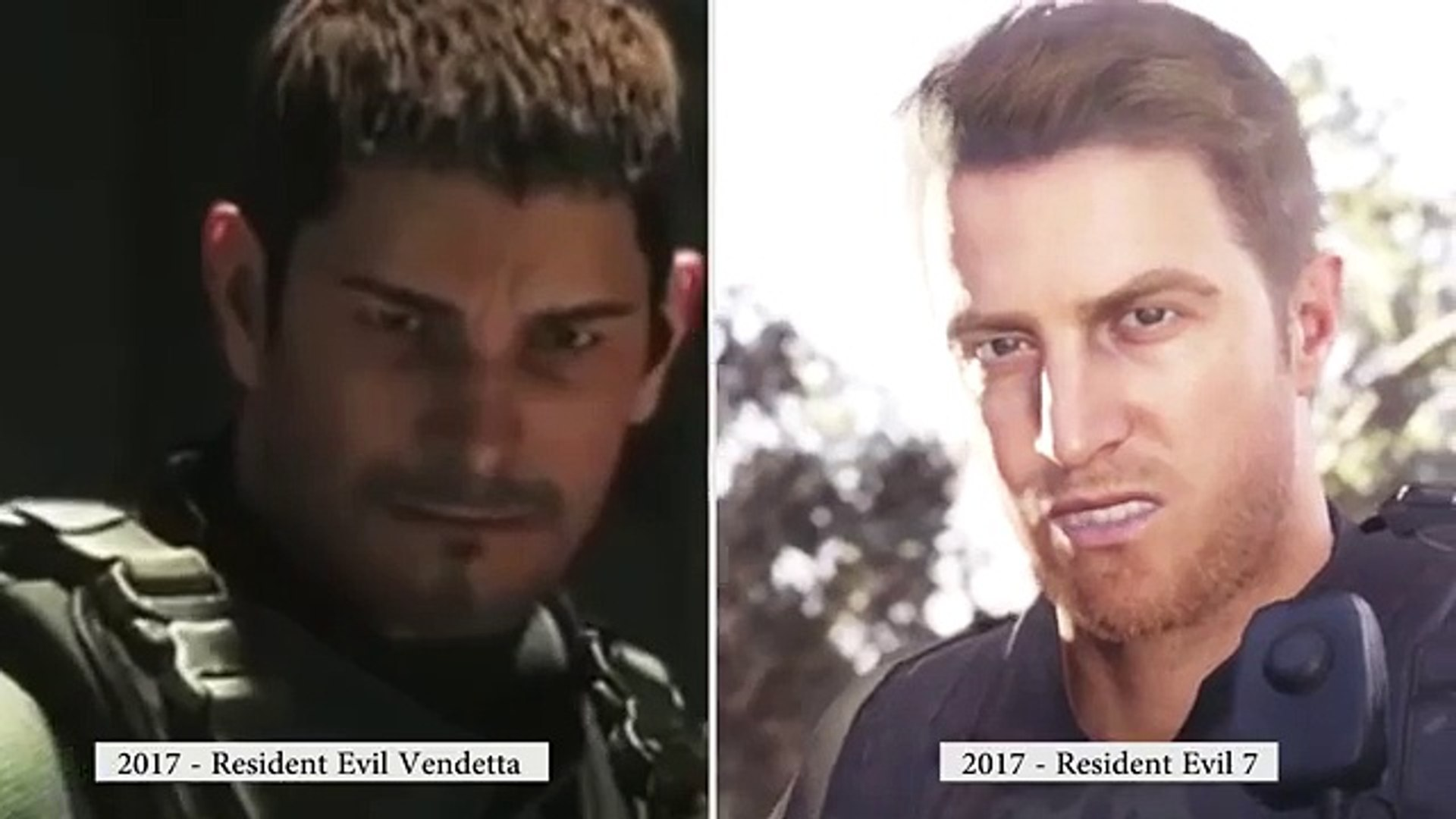 Resident Evil 7 Chris Redfield Hunk Clone Relative Who Is Redfield Re7 Charer Theory