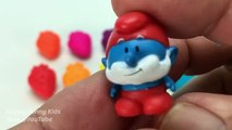 Fun Learning Colors with Play Doh Strawberry Surprise Toys Spiderman Peppa Pig Disney Frozen Minions