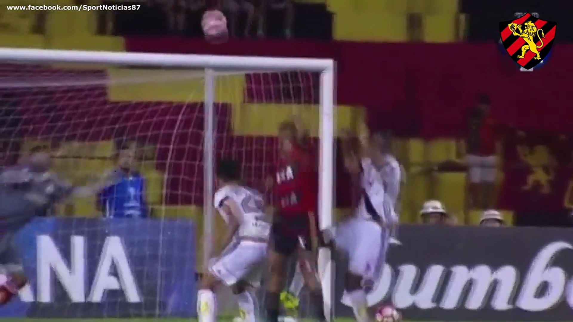 Copa Sul-Americana 2017 - Oitavas de Final - Sport 3 x 1 Ponte Preta (Narração de Aroldo Costa)