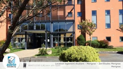 Location logement étudiant - Merignac - Zen'Etudes Merignac