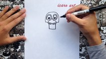 Como dibujar a old chica de five nights at freddys | how to draw old chica