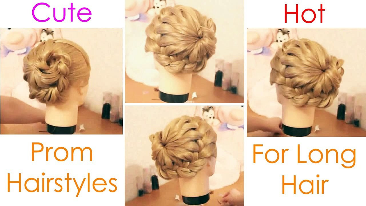 Prom Girls Must Watch: Cutest Prom Hairstyles For Long Hair Tutorial