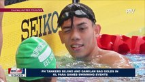 SPORTS NEWS: PH tankers Bejino and Gawilan bag golds in KL Para Games swimming events