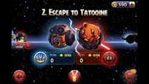 Angry Birds Star Wars 2 - Walkthrough Part 10: Level B2-1 to B2-5