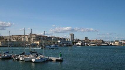 Port de Sète, tests avec le GH5 de Panasonic