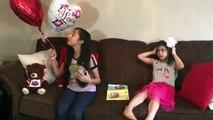 Bad Baby vs bad kids Secret Valentines !! family fun vlogs sisters fun tube