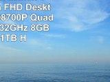 HP Pavilion 23Inch Touchscreen FHD Desktop AMD A108700P QuadCore up to 32GHz 8GB RAM