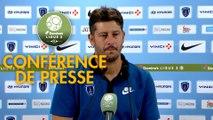 Conférence de presse Paris FC - US Orléans (1-0) : Fabien MERCADAL (PFC) - Didier OLLE-NICOLLE (USO) - 2017/2018