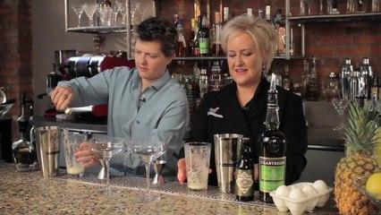 Green Goddess Cocktail - Kathy Casey's Liquid Kitchen - Small Screen