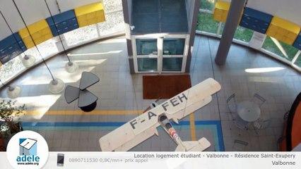 Location logement étudiant - Valbonne - Résidence Saint-Exupery