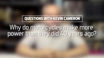 Why Do Motorcycles Make More Power Than They Did 40 Years Ago?