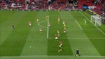 4-1 Lloyd Dyer Goal England  Football League Cup  Round 3 - 20.09.2017 Manchester United 4-1...