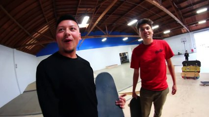 THE BRAILLE HOUSE HIGH OLLIE CHALLENGE