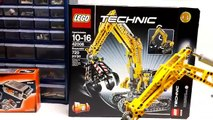 LEGO Technic 42006 Excavator Review and Comparison to LEGO Technic 8043