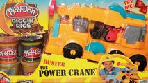 Play Doh Diggin Rigs Buster The Power Crane Play-Doh Playset