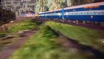MSTS Train Simulator Indian Railways Train passing Dudhsagar falls