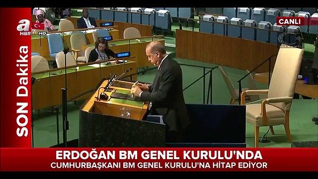Erdoğan BM Genel Kurulunda Konuştu - FULL