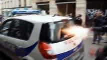 """Voiture de police brûlée - La réaction incroyable du """"policier Kung-Fu"""" avait fait le tour du web!"""