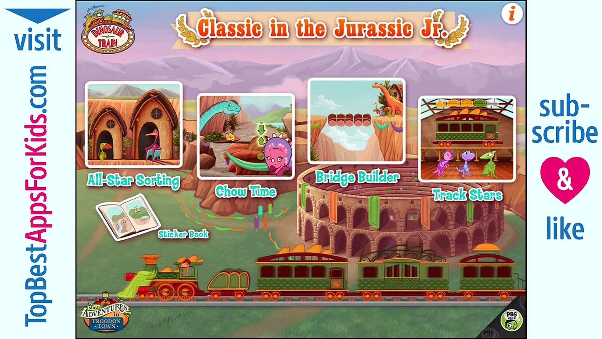 Dinosaur Train: Classic in the Jurassic Jr. - Education Games for Kids