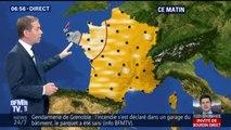 Le thermomètre repasse au-dessus des 20 degrés dans toute la France ce jeudi