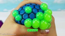 Kids Learn Teach Colors Toddler Babies Children Squish Splat Ball Squishy Slime & Stress Balls Toys