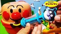 Dessin animé jouets Anpanman jouets animés ❤ argile de plats de cuisine casser même amusant Do ♪ Anpanman animation