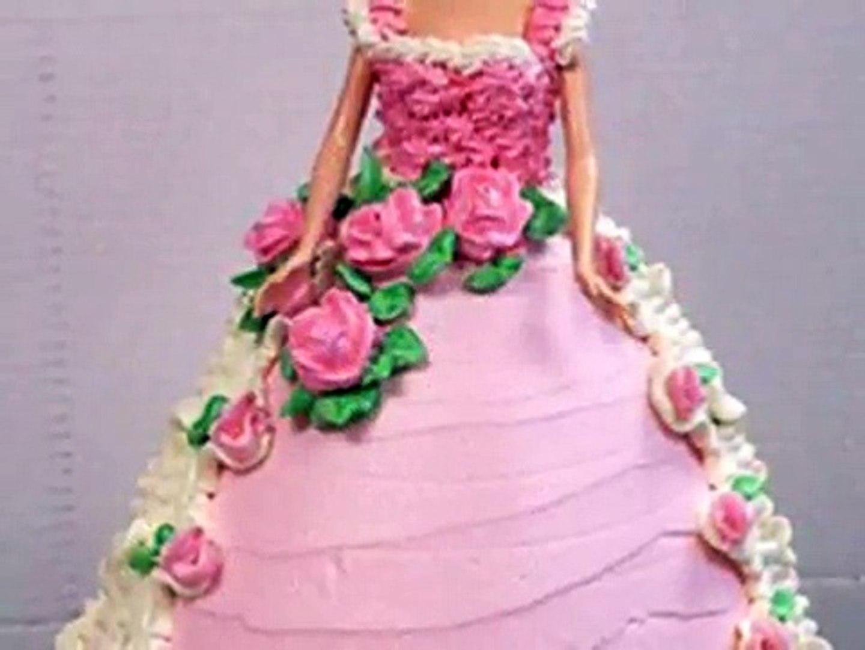Tips Menghias Kue Tart Barbie Untuk Ulang Tahun Anak