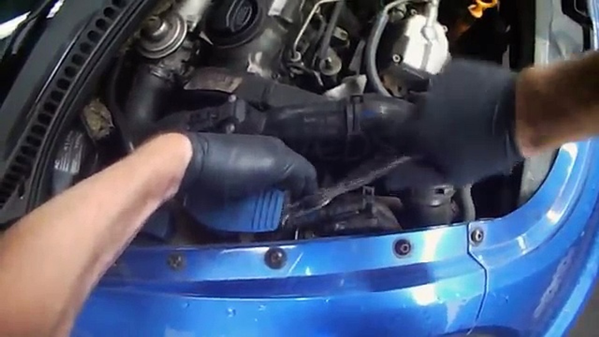 VW A4: New Beetle ALH TDI Fuel Filter replacement