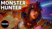 Marvel Vs. Capcom: Infinite - Monster Hunter Gameplay Trailer