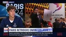 Reportage BFM Sport TV - Eliot Curty (Annonce officielle de #Paris2024 (13/09/2017))
