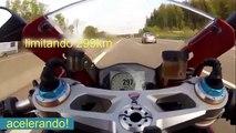 Acelerando Motos esportivas até o final !!! relação 0 a 300 km/h,motos mais rápidas