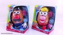 Mr. & Mrs. Potato Head Fun Toys for Kids Play-Doh Surprise Eggs Dippin Dots Toy Surprises
