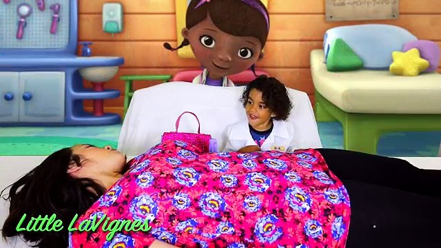 DOC MCSTUFFINS CHECK-UP TURNS INTO MAJOR SURGERY AND SHOT IN MOMMYS TUMMY!