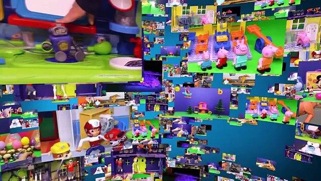 BLAZE AND THE MONSTER MACHINES Nickelodeon Blaze Slam n Go Monster Truck Toys Video Unboxing