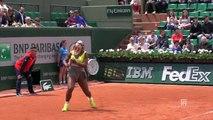 Ralentis Coups droits Roland Garros 2014