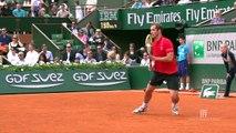 Ralentis de revers Roland Garros 2014