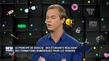 Hello startup : Geekzie, des étudiants réalisent des formations numériques pour les séniors - 22/09