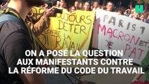 """""""La démocratie ce n'est pas la rue"""": les manifestants répondent à Macron"""